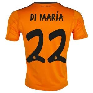 Camiseta nueva Real Madrid Di Maria Equipacion Tercera 2013/2014