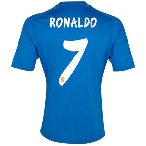 Camiseta nueva del Real Madrid 2013/2014 Equipacion Ronaldo Segunda