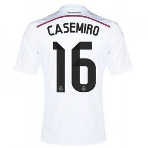 Camiseta nueva Real Madrid Casimiro Equipacion Primera 2014/2015