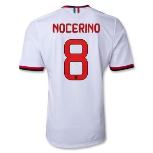 Camiseta del Nocerino AC Milan Segunda Equipacion 2013/2014