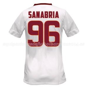 Camiseta nueva del AS Roma 2014/2015 Equipacion Sanabria Segunda