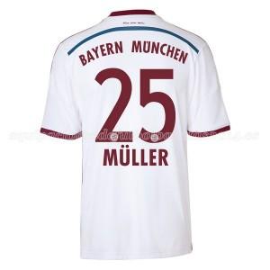 Camiseta Bayern Munich Muller Segunda Equipacion 2014/2015