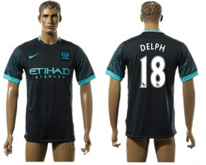 Camiseta nueva del Manchester City 18# aaa version Away