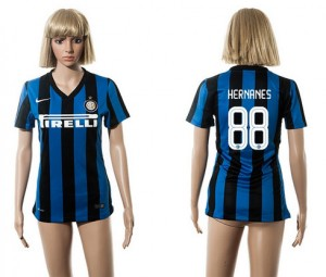 Camiseta nueva Inter Milan Mujer 88 2015/2016
