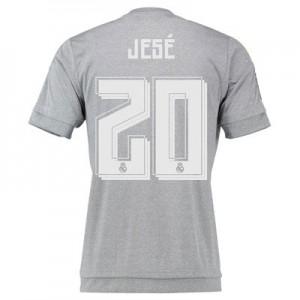 Camiseta nueva Real Madrid Numero 20 JESE Equipacion Segunda 2015/2016
