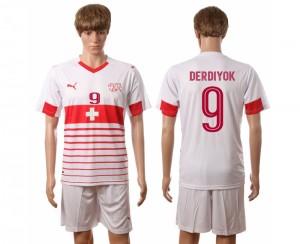 Camiseta nueva Suiza Nombre DERDIYOK 2016/2017