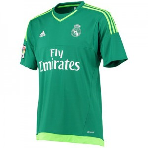 Camiseta Portero de Real Madrid 2015/2016 Segunda Equipacion