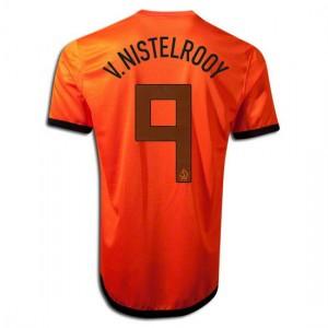 Camiseta Holanda de la Seleccion V.Nistelrooy Primera 2012/2014