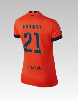 Camiseta Barcelona Bartra Tercera Equipacion 2013/2014
