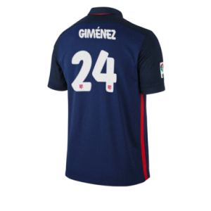 Camiseta nueva del Atletico Madrid 2015/2016 Equipacion GIMENEZ Segunda