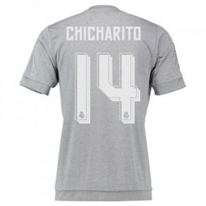 Camiseta de Real Madrid 2015/2016 Segunda Numero 14 CHIC Equipacion