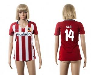 Camiseta nueva Atletico Madrid Mujer 14 2015/2016