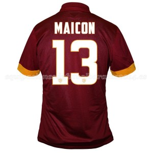 Camiseta del Maicon AS Roma Primera Equipacion 2014/2015