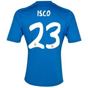 Camiseta Real Madrid Isco Segunda Equipacion 2013/2014