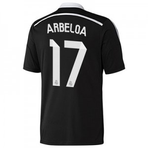 Camiseta Real Madrid Arbeloa Tercera Equipacion 2014/2015