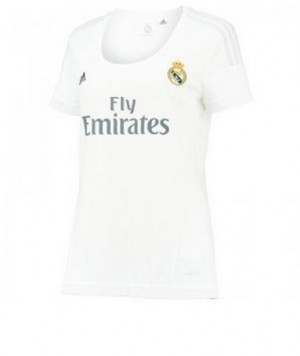 Mujer Camiseta del Real Madrid Primera Equipacion 2015/2016