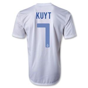 Camiseta Holanda Kuyt Segunda 2013/2014