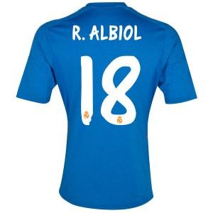 Camiseta nueva del Real Madrid 2013/2014 Equipacion R.Albiol Segunda