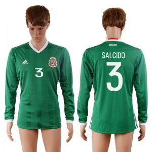 Camiseta Mexico 3# 2016-2017