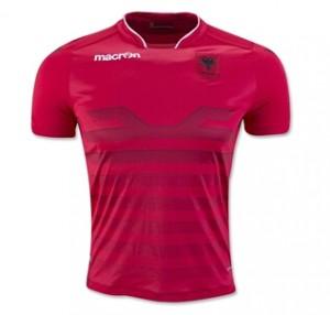 Camiseta de Albania 2016 Home