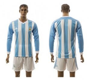 Camiseta nueva del Argentina 2015/2016 Manga Larga
