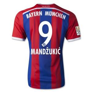 Camiseta nueva del Bayern Munich 2014/2015 Equipacion Mandzukic Primera