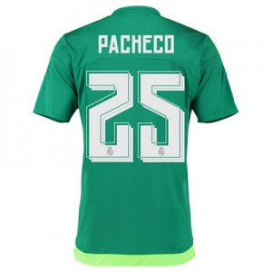 Camiseta de Real Madrid 2015/2016 Segunda Numero 25 PACH Equipacion