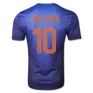 Camiseta nueva Holanda de la Seleccion Sneijder Segunda WC2014