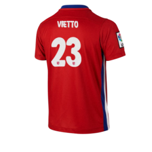 Camiseta nueva Atletico Madrid VIETTO Equipacion Primera 2015/2016