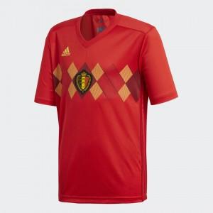 Camiseta de BELGIUM 2018 Home Juventud