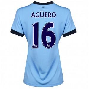 Camiseta nueva del Manchester City 2014/2015 Fernandinho Segunda