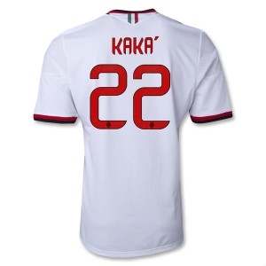 Camiseta nueva del AC Milan 2013/2014 Equipacion Kaka Segunda