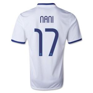 Camiseta nueva del Portugal de la Seleccion 2013/2014 Nani Segunda