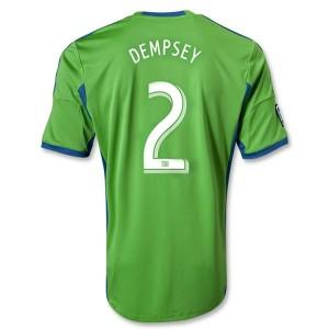 Camiseta nueva del Seattle Sound Equipaci Dempsey Tailandia Primera