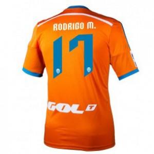 Camiseta nueva Valencia Rodrigo Equipacion Segunda 2014/2015