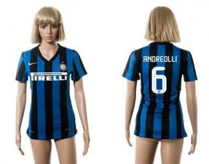 Camiseta de Inter Milan 2015/2016 6 Mujer