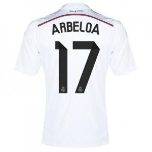Camiseta del Arbeloa Real Madrid Primera Equipacion 2014/2015