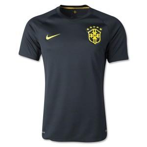 Camiseta de Brasil de la Seleccion WC2014 Tercera