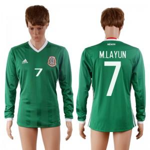 Camiseta nueva del Mexico 2016-2017 7#
