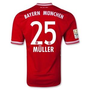 Camiseta nueva Bayern Munich Muller Equipacion Primera 2013/2014