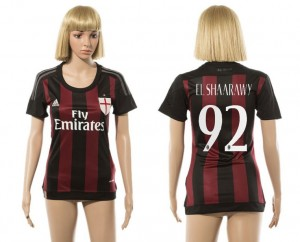 Camiseta nueva AC Milan Mujer 92 2015/2016