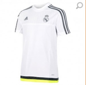 Camiseta Training Real Madrid Junior Blanco 2015/2016