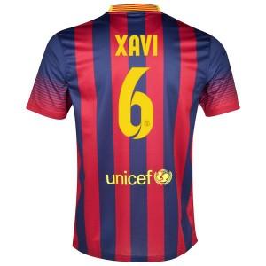 Camiseta del Xavi Barcelona Primera 2013/2014