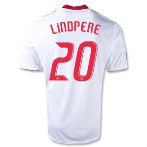 Camiseta Red Bulls Lindpere Primera Equipacion 2013/2014