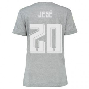 Camiseta nueva Real Madrid Mujer JESE Equipacion Segunda 2015/2016