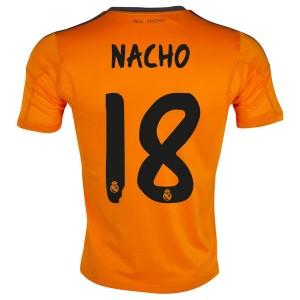 Camiseta del Nacho Real Madrid Tercera Equipacion 2013/2014
