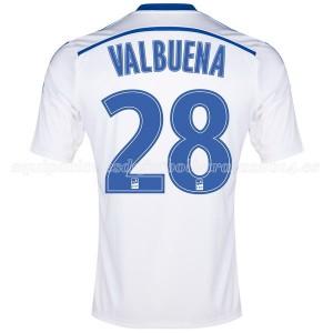 Camiseta de Marseille 2014/2015 Primera Valbuena