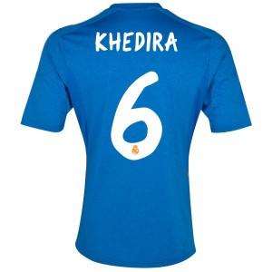 Camiseta del Khedira Real Madrid Segunda Equipacion 2013/2014