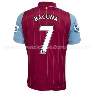 Camiseta del Bacuna Aston Villa Primera Equipacion 2014/15
