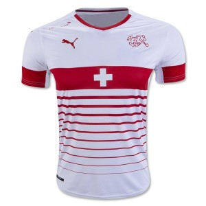 Camiseta nueva Suiza de la Seleccion Primera 2016